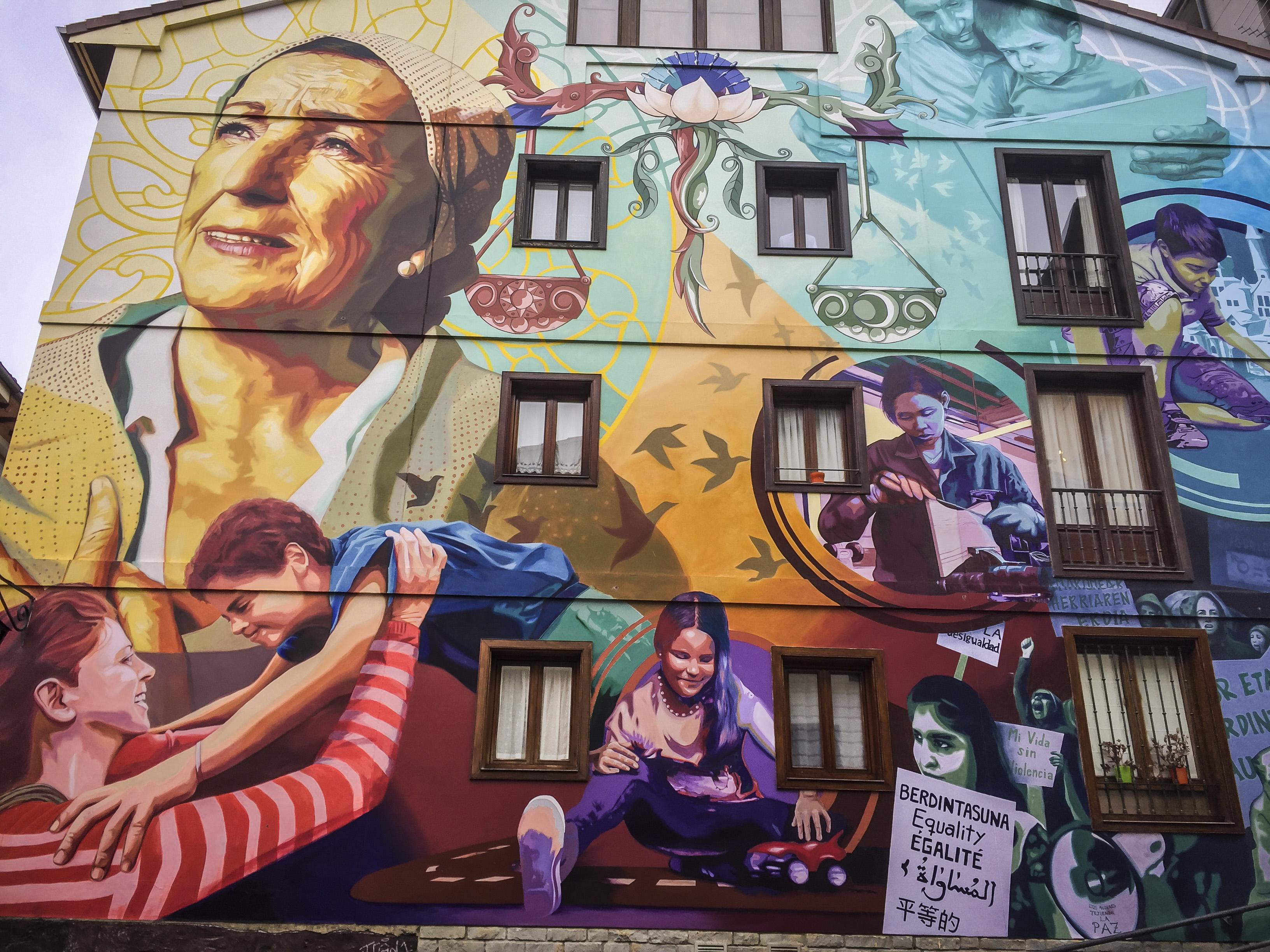 Los Murales Mas Bonitos De Vitoria Dato Economico